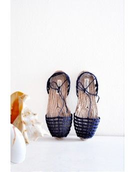 Navy espadrilles from Ibiza
